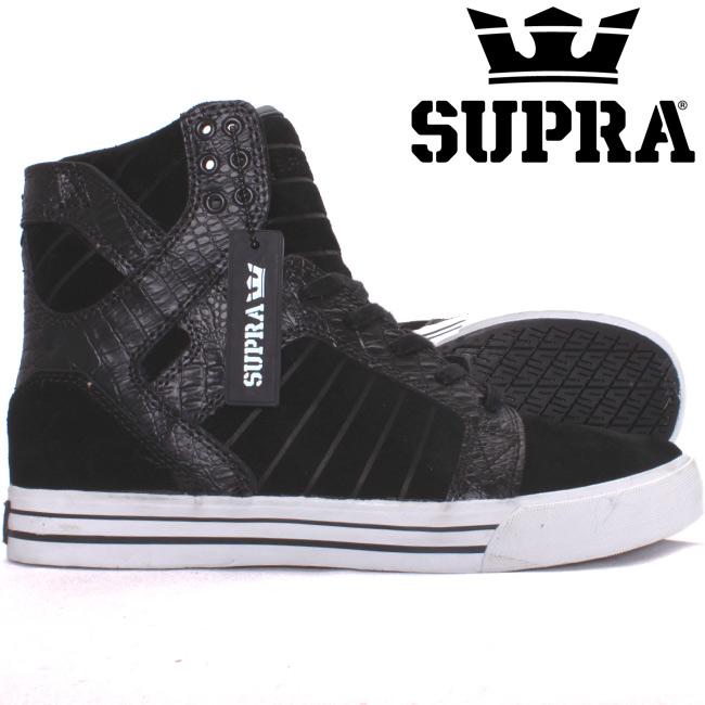 723ffd6401f Supra Skytop チャドマスカ Pro model black Croc suede SUPRA MUSKA SKY TOP CHAD  MUSKA PRO MODEL ...