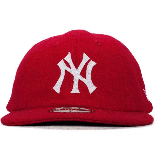 ニューエラ 8パネル1920キャップ クーパーズタウンコレクション ニューヨークヤンキース スカーレットNew Era 8 Panel 19Twenty Cap Coopers Town Collection New York Yankees あす楽対応 近畿あす楽対応 中国あす楽対応 四国あす楽対応 九州9H2IWED