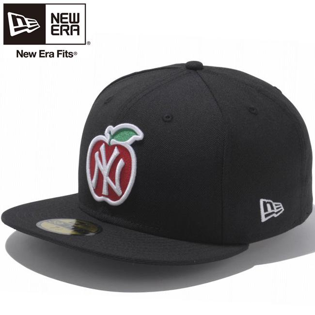 New gills 5950 cap apple logo collection New York Yankees black multi-white  New Era 59FIFTY Cap Apple Logo Collection New York Yankees Black Multi 5e9a5484042