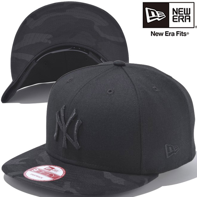 New York Yankees dark camo New Era 9Fifty Snapback Cap
