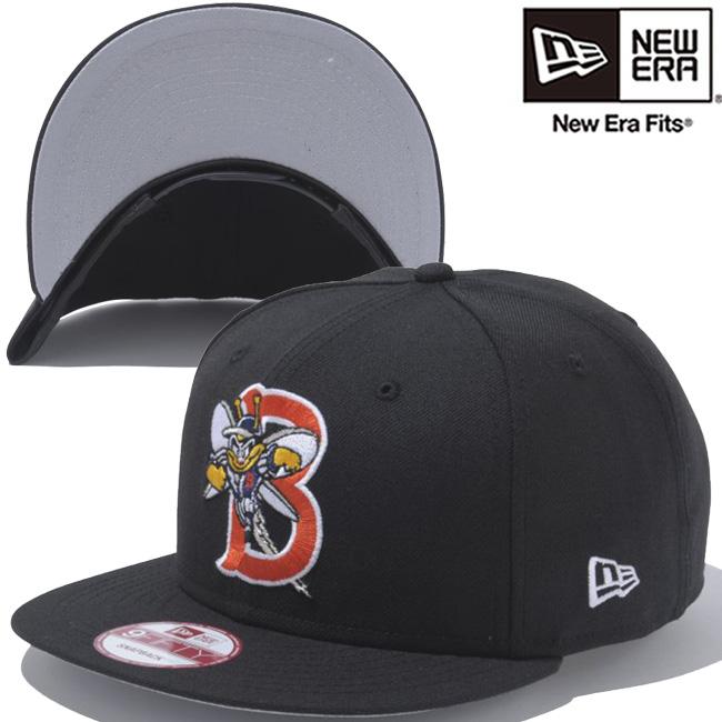 New era 950 Snapback Cap incarnations Binghamton Mets black white New Era  9Fifty Cap Minor League Baseball Binghamton Mets Black White 058c4e8253e