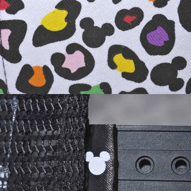 디즈니×뉴에라디후레임트락카멧슈캐프믹키마우스마르치레오파드 Disney×New Era D-Frame Mesh Cap Mickey Mouse Multi Leopard