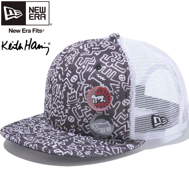 Keith Haring x new era 950 Snapback Cap white tricot mesh white black Keith  Haring x New Era 9Fifty Cap White Tricot White Mesh Black 7c2c8d28426