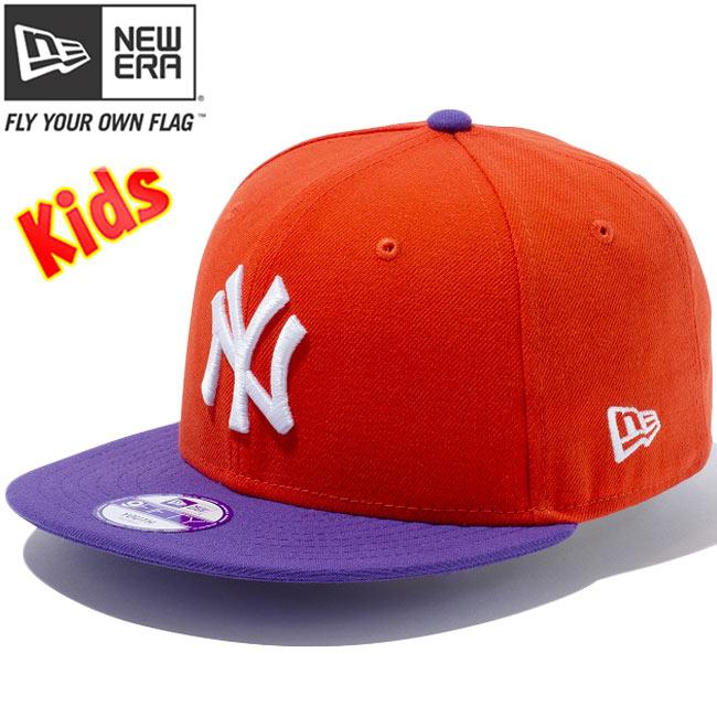 800ddbb9fcc65 cio-inc  New era 950 Snapback kids caps New York Yankees Orange ...