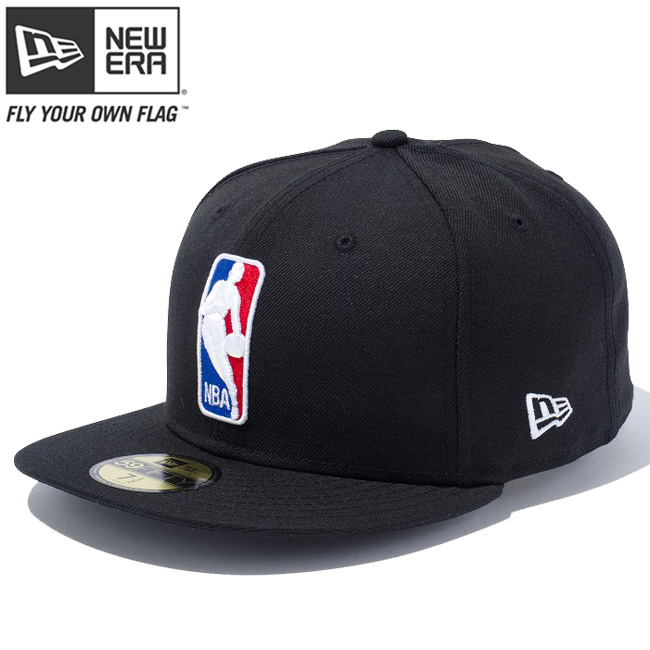 a2ac204eeebaa3 New era Cap 5950 multi-logo ENBREL NBA logo man black team colors New Era  ...