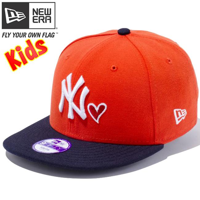 cio-inc  New era 950 Snapback kids Cap heart logo collection New ... 88ed3cfce8b