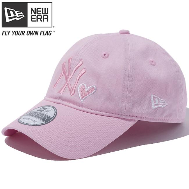 65d1bfbbc63 New era 920 Cap New York Yankees heart logo collection Pink White New Era  9Twenty Cap New York Yankees Heart Logo Collection Pink White