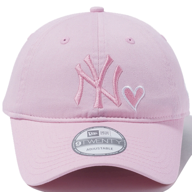 72f70ac780f New era 920 Cap New York Yankees heart logo collection Pink White New Era  9Twenty Cap New York Yankees Heart Logo Collection Pink White