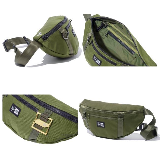 뉴 에러 웨스트 가방 아미 그린 New Era Waist Bag Army Green