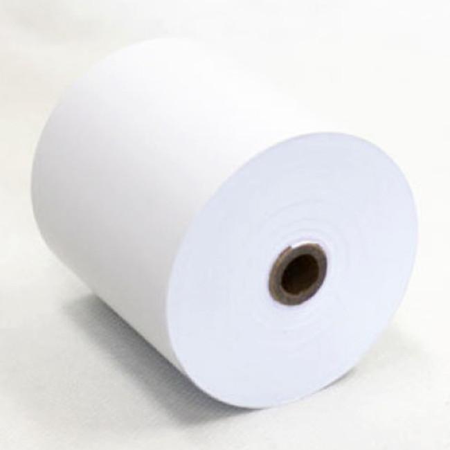 ティーピーピー 感熱式 チケット レシート キッチン ロール紙 感熱紙 8063 ホワイト 80×80×12mm 巻長63m 60巻入 TPP Thermal Ticket Receipt Kitchen Paper Roll Thermal Roll 8063 White 80×80×12mm Length 63m 60 Rolls