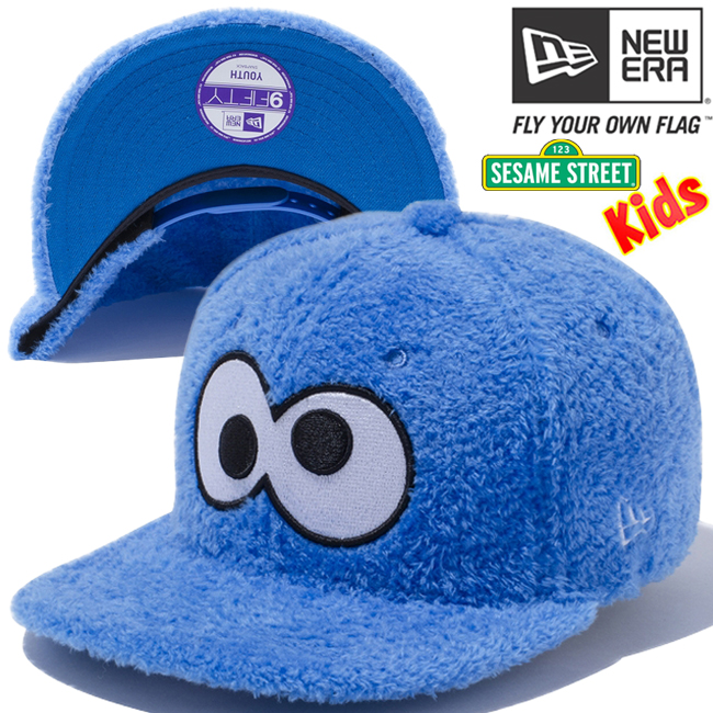 c7b89f28e64 cio-inc  Sesame Street x new era 950 kids snap back Cap big face ...