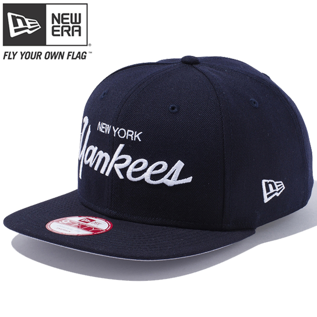 96671e5d4cf New era 950 Snapback Cap New York Yankees Bronx bombers Navy Navy snow  white snow white