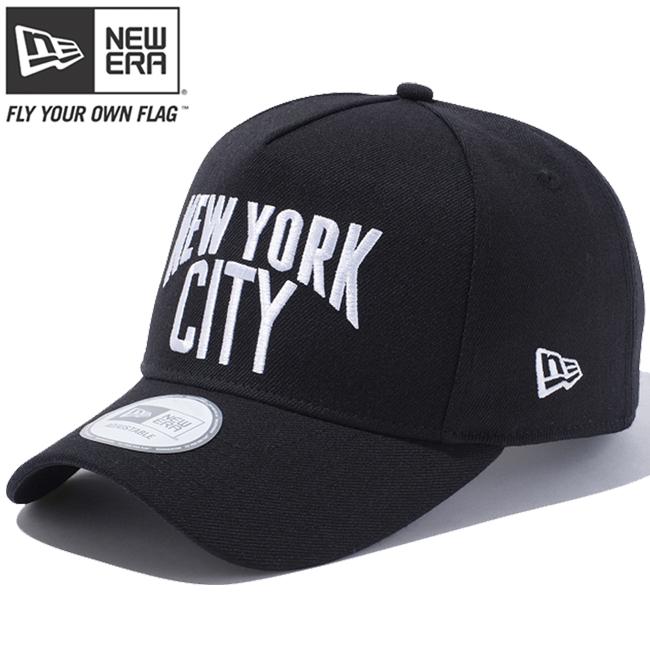 New era Cap 940 d frame New York City logo black snow white New Era 9FORTY  Cap D-Frame New York City Logo Black Snow White 13458f58626