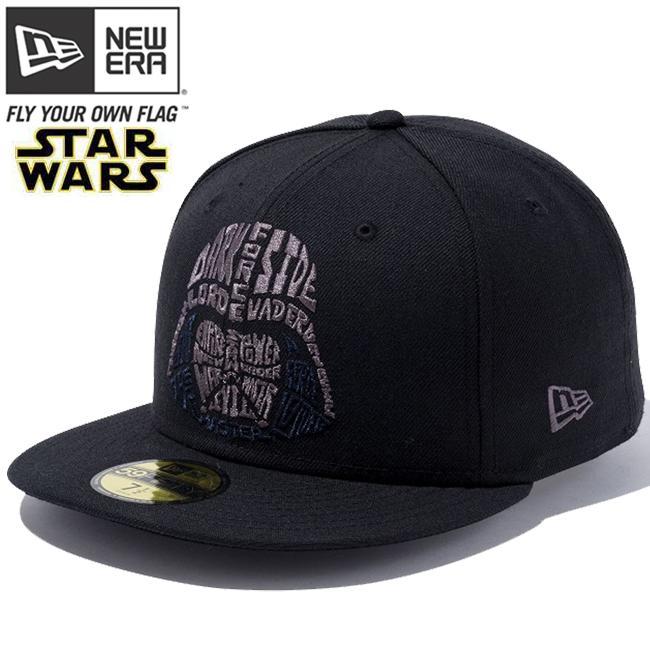 Star Wars x new era 5950 Cap multi-logo Darth baydarfacelogo black grey  STAR WARS×New Era 59 FIFTY Cap Multi Logo Darth Vader Face Logo 61b039b85c38