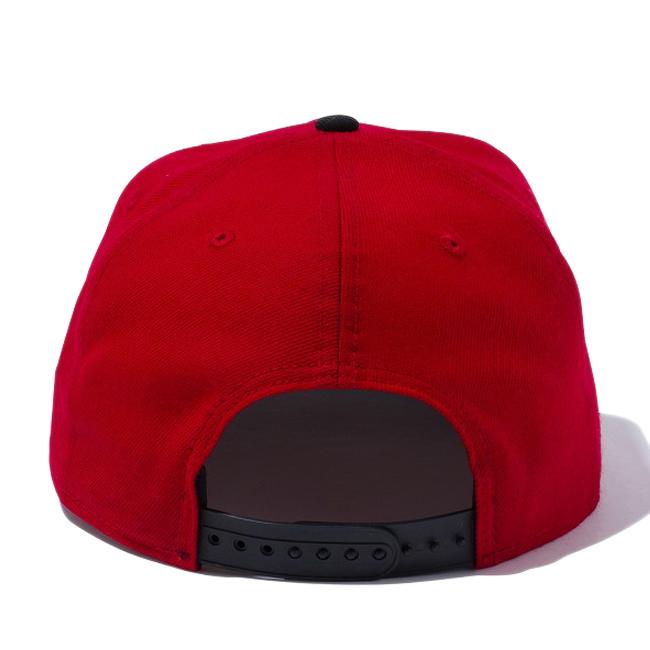 75b1406d492 New era 950 Snapback original fit Cap NBA Chicago Bulls Scarlet black team  colors New Era 9FIFTY Original Fit Snap Back NBA Chicago Bulls