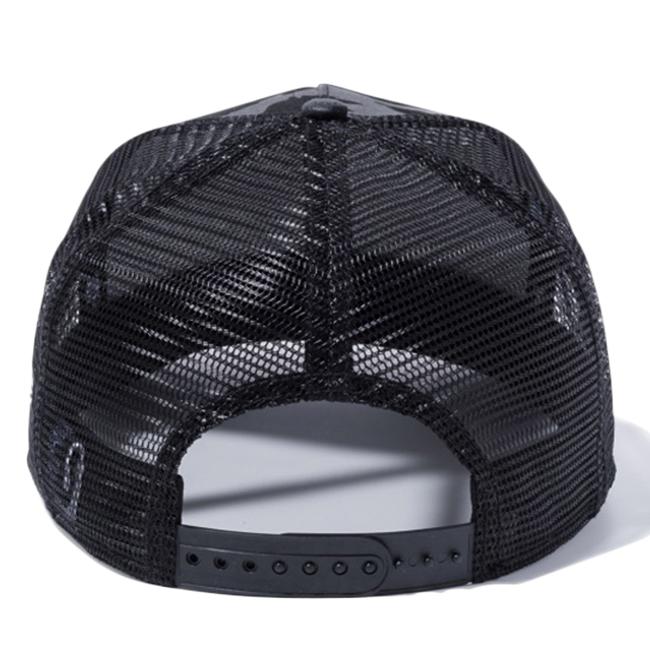 d09bf3ae cio-inc: New gills 940 A frame trucker cap Tigers tripe duck black black  mesh white New Era 9FORTY A-Frame Trucker Cap Tiger Stripe Camo Black Mesh  ...