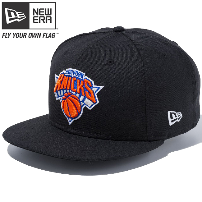 2e992ad53a02d7 New gills 950 snapback cap NBA custom New York Knicks black team color New  Era 9FIFTY ...