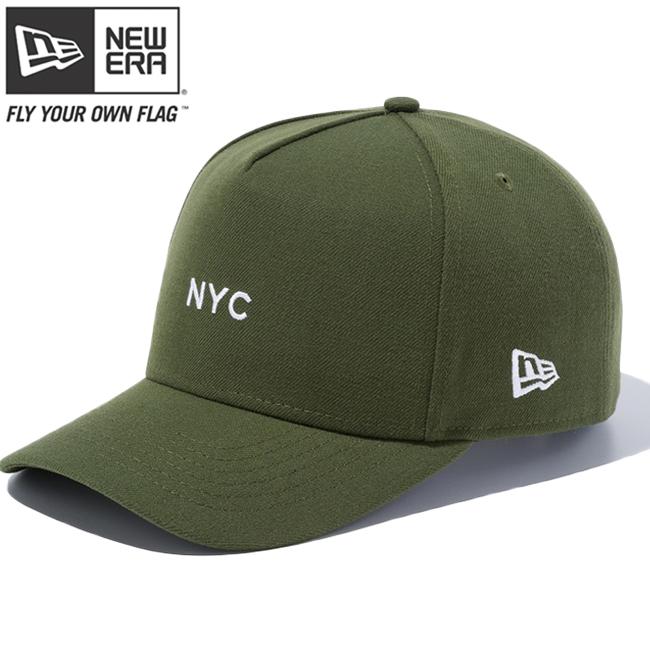 뉴 에러 940 스납박크디후레임트락카뉴요크시티미니라이후르그린 New Era 9 FORTY Snap Back D-Frame Tracker New York City Mini Rifle Green