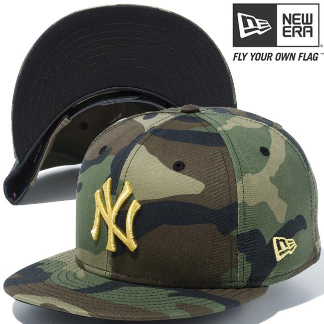 New Era Adults NY Yankees 940 League Essential Woodland Camo Baseball Cap Green