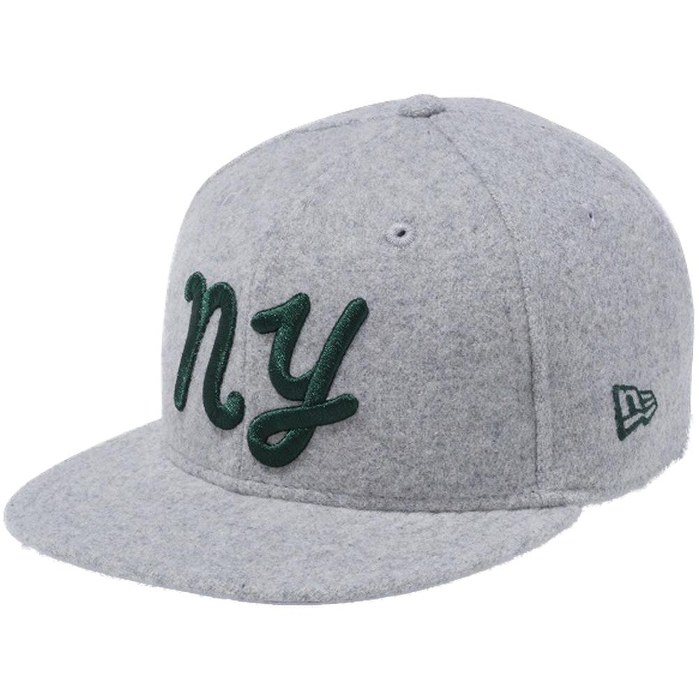 44dd42a1d54 New gills 950 snapback kids cap pen New York NY gray melton field green New  Era 9FIFTY Snapback Kids Cap Pen New York NY Gray Melton Green