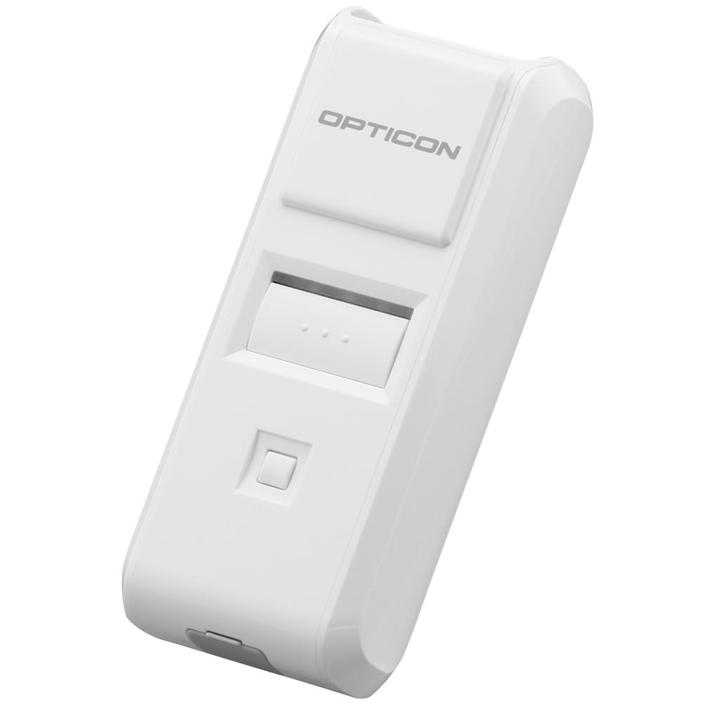 新品 代金引換不可 日時指定不可 OPN-4000i バーコード スキャナー おトク オプティコン Mobile+Oneシリーズ Bluetooh ワイヤレス CCDバーコードリーダー データコレクタ ホワイト Barcode Wireless Data Mobile+One 卸売り Collector CCD Reader Series OPTICON White