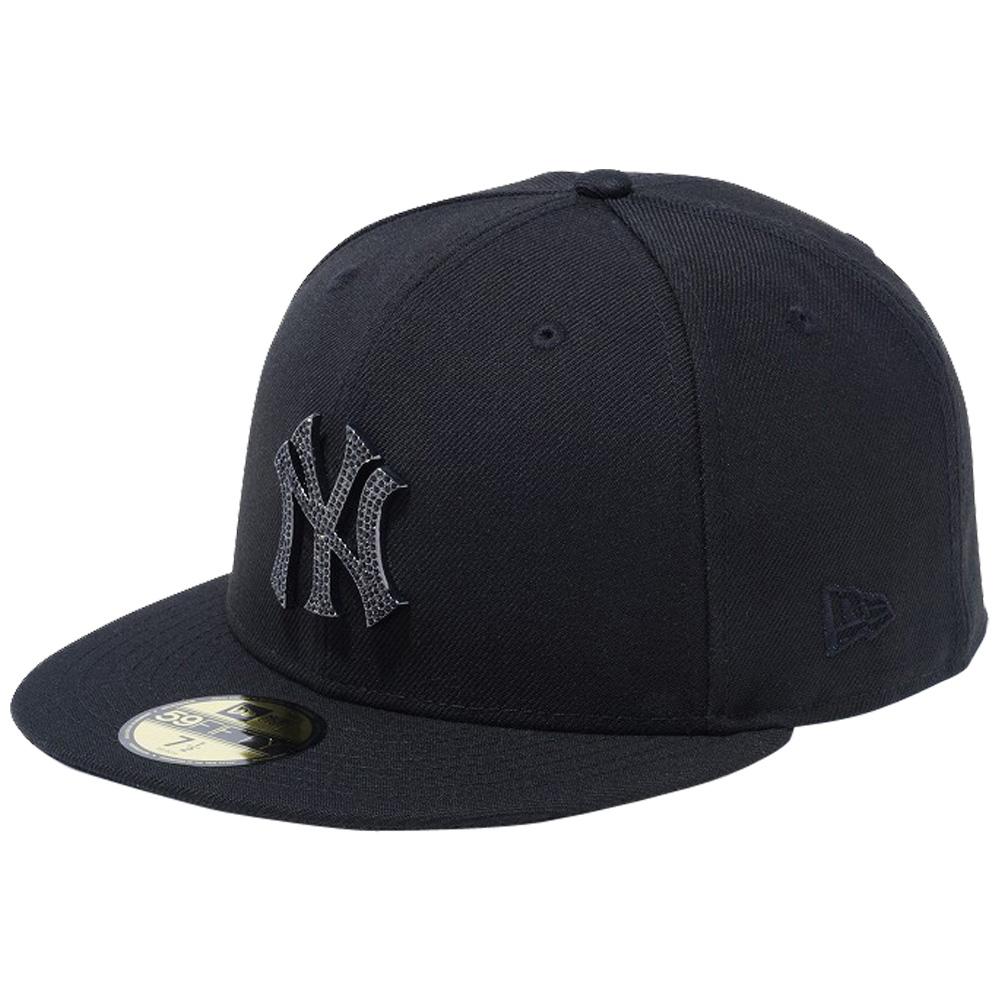 ニューエラ 5950キャップ スペシャルロゴ ラインストーン ニューヨークヤンキース ブラック ブラック New Era 59FIFTY Cap Special Logo Rhinestone New York Yankees Black Black【あす楽対応_近畿】【あす楽対応_中国】【あす楽対応_四国】【あす楽対応_九州】