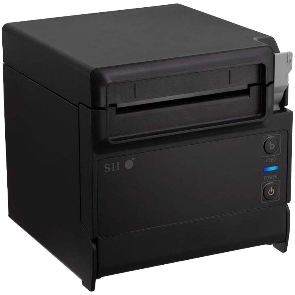 セイコーインスツル 据え置き型感熱式プリンター RP-F10シリーズ RP-F10-K27J1-3 Ethernet接続 ブラック Seiko Instruments Stationary Thermal Printer RP-F10 Series RP-F10-K27J1-3 Ethernet Connection Black