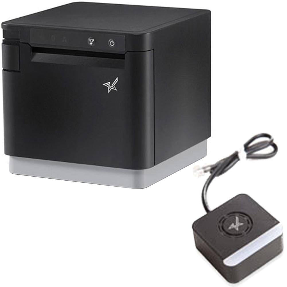 スター精密 据え置き型感熱式プリンター mCollection mC-Print3シリーズ MCP31LB BK JP セット(メロディースピーカー) WebPRNT対応 USB Ethernet Bluetooth DK接続 MFi認定 ブラック Star Micronics Stationary Thermal Printer MCP31LB BK JP Set(Melody Speaker)