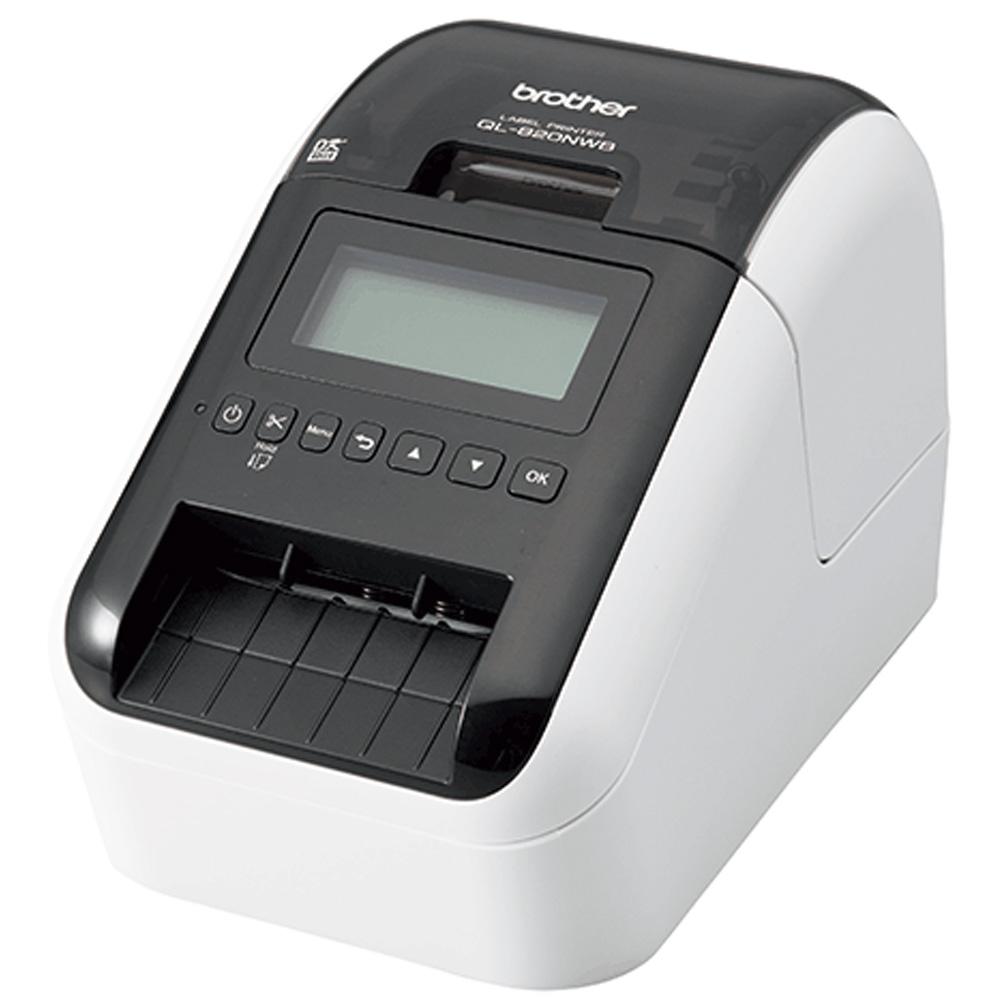 ブラザー 感熱ラベルプリンター QL-820NWB USB Bluetooth接続 ホワイト Brother Thermal Label Printer QL-820NWB USB Bluetooth Connection White