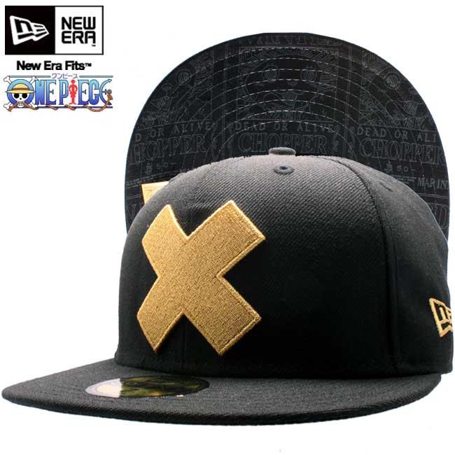 Dress X new gills cap under visor Tony Tony chopper hat black   gold ONE  PIECE X New Era Cap Tonytony 64d9b2072