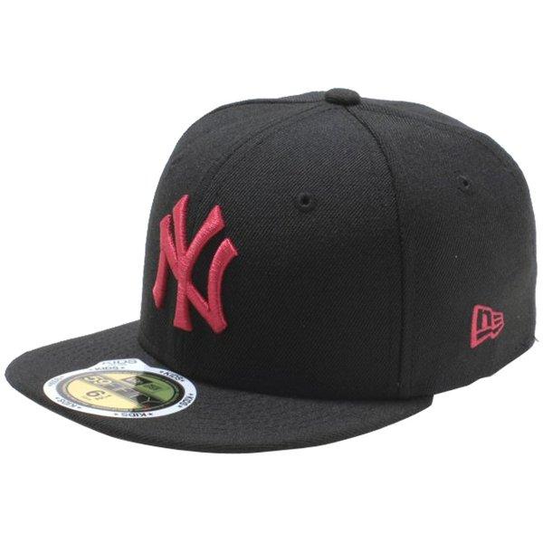 Cio-inc: New Era Kids Cap Pink Logo New York Yankees Black