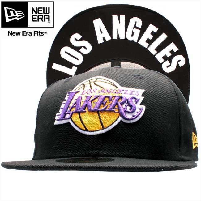 New Era 59Fifty Cap NBA BLACK Los Angeles Lakers