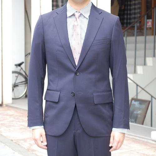 【50%OFF】narifuri ナリフリ NF863 キャトルテックテーラードジャケット ネイビー NAVY