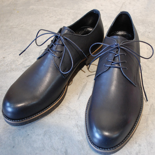 PADRONE パドローネ PU7358-2033-16A DERBY PLAIN TOE SHOES (WATER PROOF LEATHER) ダービープレーントゥシューズ / JACK 8 ブラック