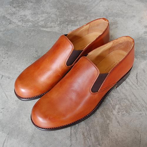 送料無料!  PADRONE パドローネ メンズ SIDE GORE SHOES サイドゴアシューズ / VITO キャメル CAMEL PU8054-2201-17A 革靴 スリッポン