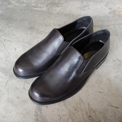 PADRONE パドローネ メンズ SIDE GORE SHOES サイドゴアシューズ / VITO ブラック BLACK PU8504-2201-17A 革靴 スリッポン