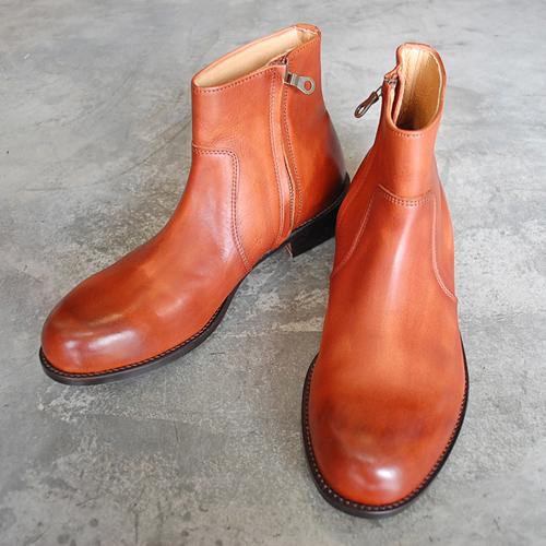 PADRONE パドローネ SIDE ZIP BOOTS / RAUL ラウル CAMEL キャメル PU7358-1118-15A 革靴 メンズ