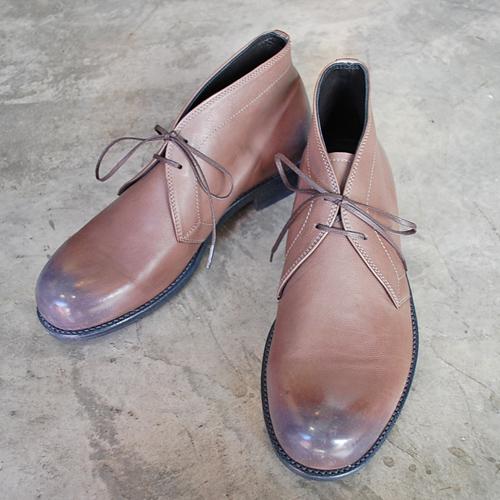 PADRONE パドローネ メンズ CHUCCA BOOTS チャッカブーツ / TERRY テリー ASH アッシュ PU8586-1202-17C 革靴