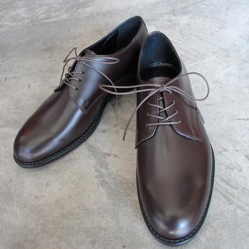 ARCOLLETTA PADRONE(アルコレッタパドローネ) AP8565-2013-19C DERBY PLAIN TOE SHOES / LEONE ダークブラウン DARK BROWN 革靴 メンズ