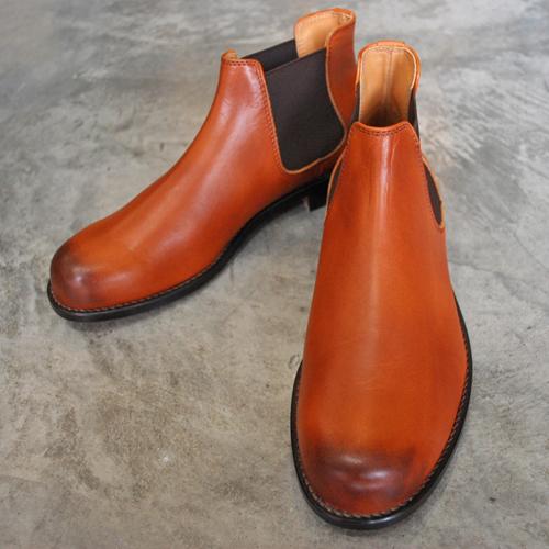 PADRONE パドローネ SIDE GORE BOOTS サイドゴアブーツ/ EDGAR エドガー CAMEL キャメル PU8054-1126-15C 革靴