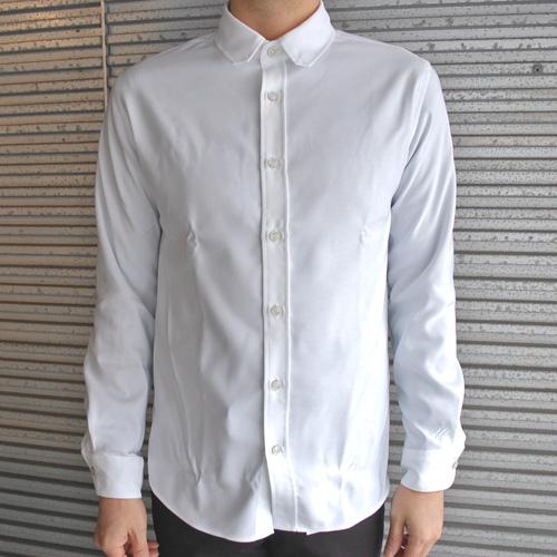narifuri ナリフリ NF4017 イージーケアコミュートシャツ WHT ホワイト