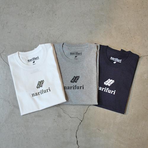 narifuri ナリフリ NF1094 ヘビーコットン スーベニアTシャツ(3P)ミックス MIX