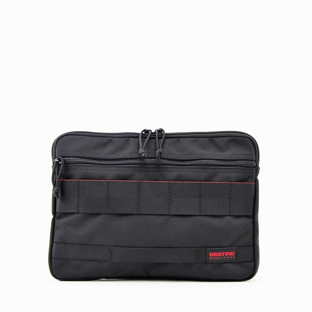 [MADE IN USA] BRIEFING [A4 CLUTCH][BRF488219][BLACK] ブリーフィング A4クラッチ ブラック