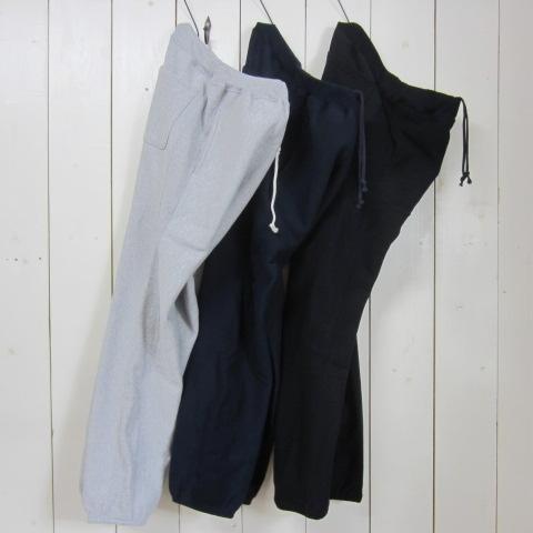 champion チャンピオン [sweat pants][c5-y201][long][solid][side rib][3c]