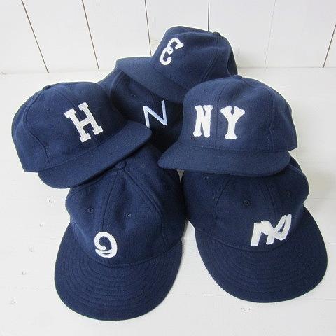 [メール便可] ebbets field flannels エベッツフィールド [ball cap][navy collections][6c]