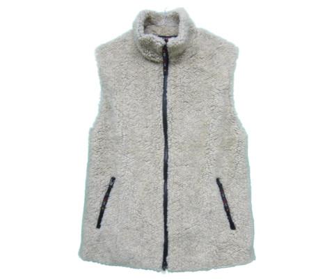 farfield [fell vest][solid][cashmera][1901] ファーフィールド フェルベスト フリースベスト
