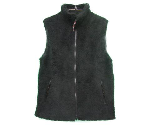farfield [fell vest][solid][black][1901] ファーフィールド フェルベスト フリースベスト