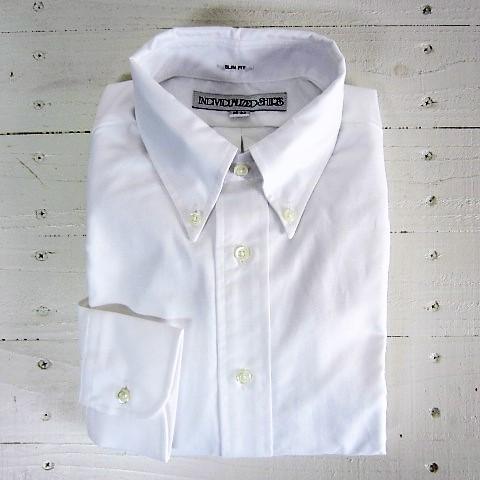 individualized shirts インディビジュアライズドシャツ [ls][cambridge][slim][white]