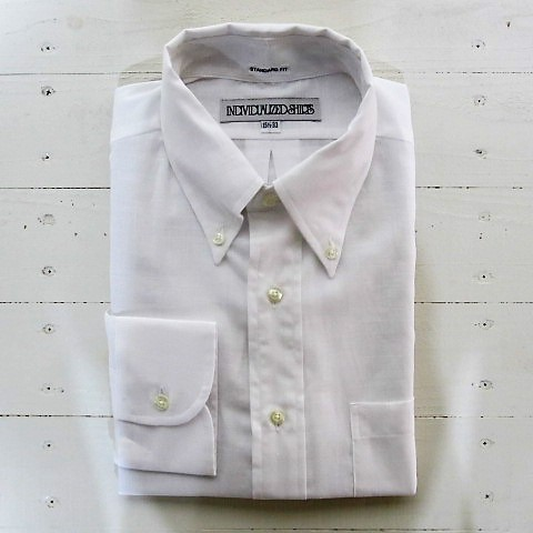 individualized shirts インディビジュアライズドシャツ [ls][ultra light poplin][standard][white]