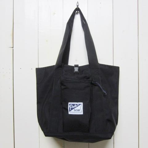 pack northwest パックノースウェスト [large hobo tote][ballistic][black]
